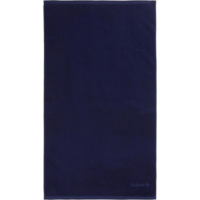 Strandlaken Basic S donkerblauw 90 x 50 cm