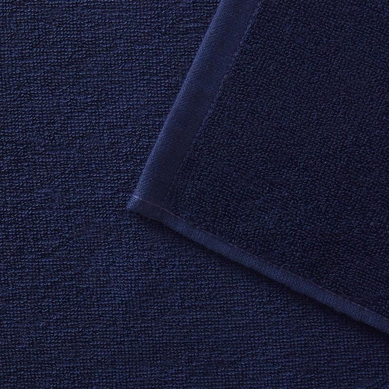 Serviette BASIC S Bleu Foncé 90x50 cm