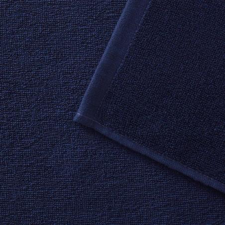 Toalla Playa Surf  Olaian Basic S Azul Oscuro 90 x 50 cm Algodón