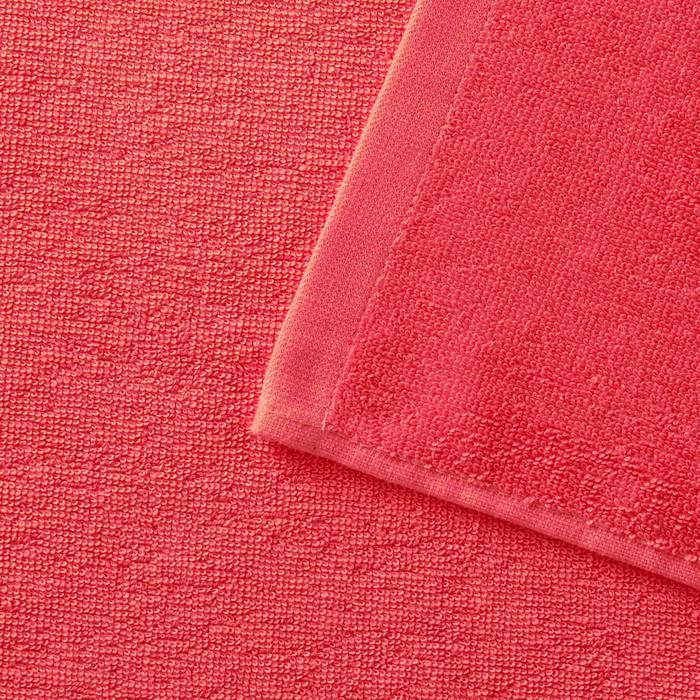 Handdoek Basic S koraal 90x50cm