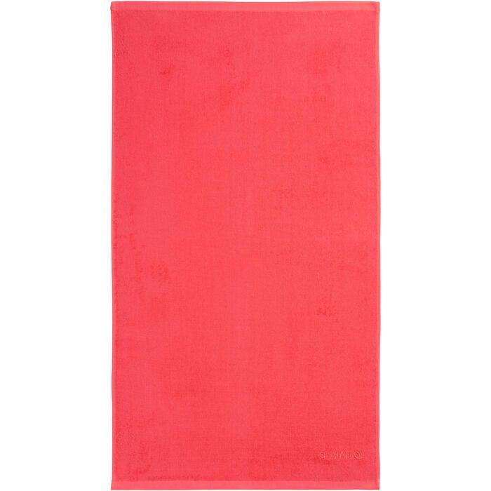 TOALLA BASIC S rojo coral 90x50 cm