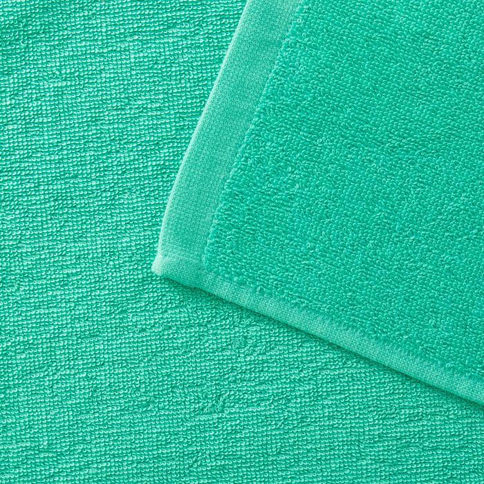 Handdoek Basic S groen 90 x 50cm - 1288666
