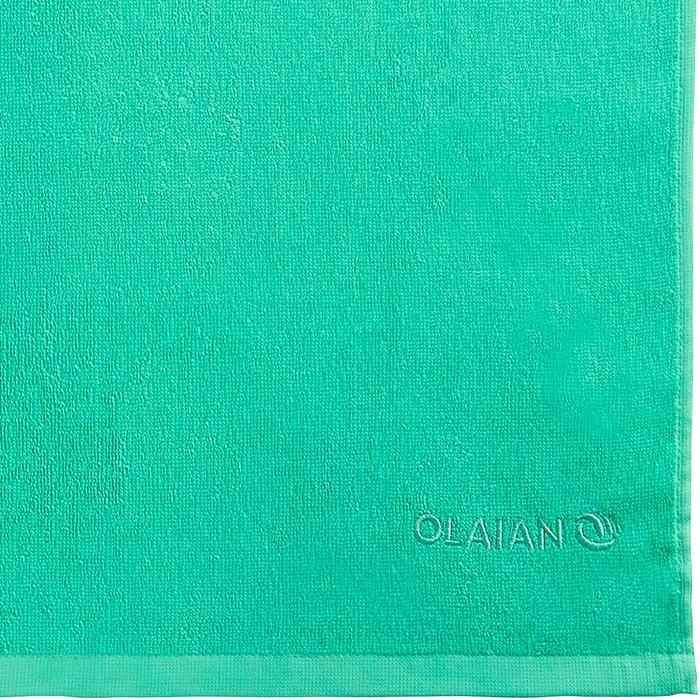Handdoek Basic S groen 90 x 50cm