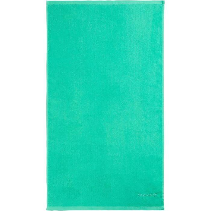 Handdoek Basic S groen 90 x 50cm - 1288668