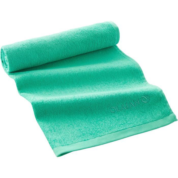 Handdoek Basic S groen 90 x 50cm - 1288669