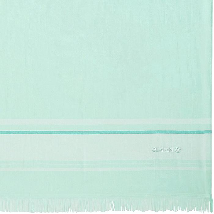 TOALLA FOUTA DOBLE verde claro 170x150 cm
