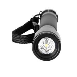 Linterna Foco Caza Solognac 500 Zoom Negro
