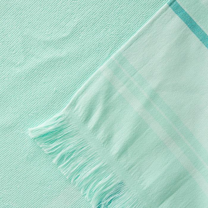 Handdoek Fouta lichtgroen 170 x 100 cm