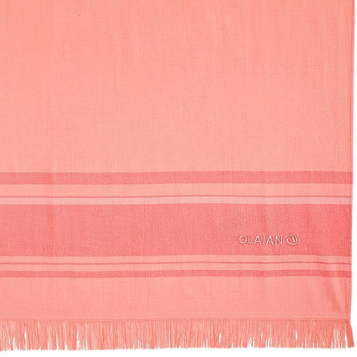 Handdoek Fouta peach 170 x 100 cm - 1288721