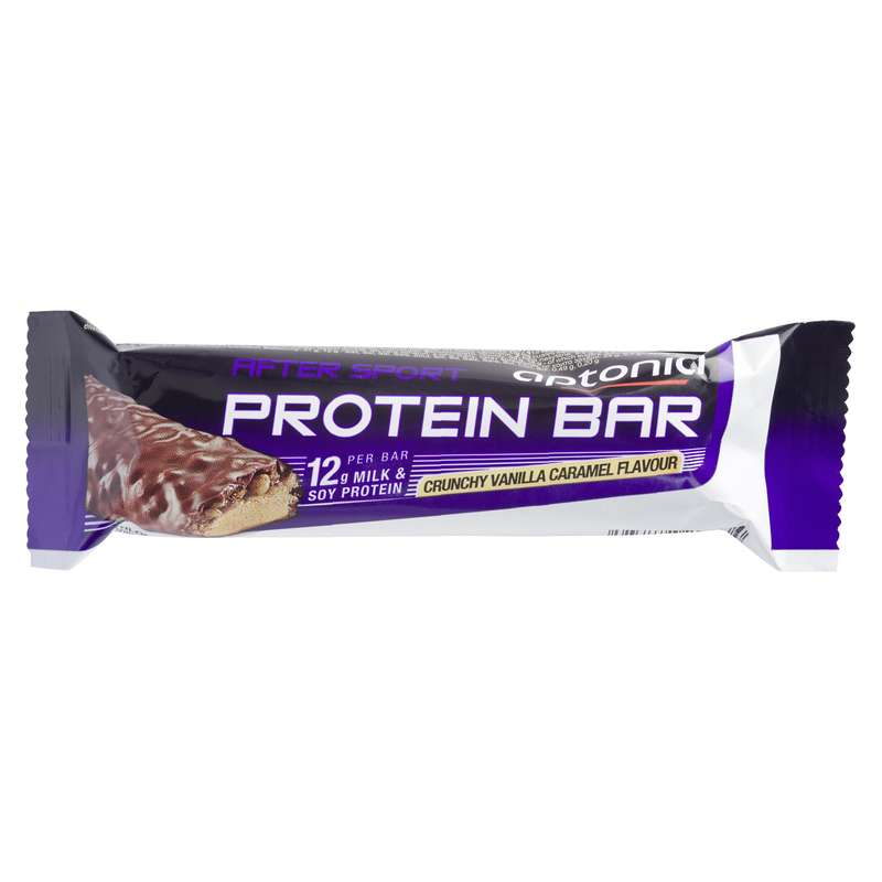 BARS, GELS & AFTER - Protein bar crunchy vanilla APTONIA