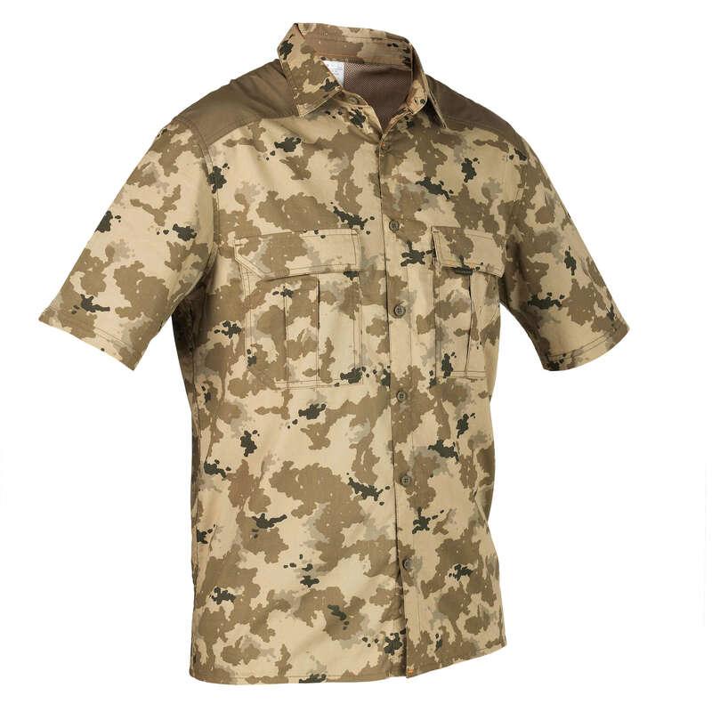 Одежда на теплую погоду Охота - Рубашка 100 MC SOLOGNAC - Одежда