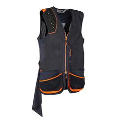 GILET BALL TRAP 900 PROTECTION NOIR