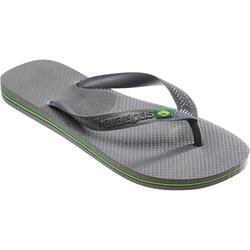 Slippers Brasil grijs