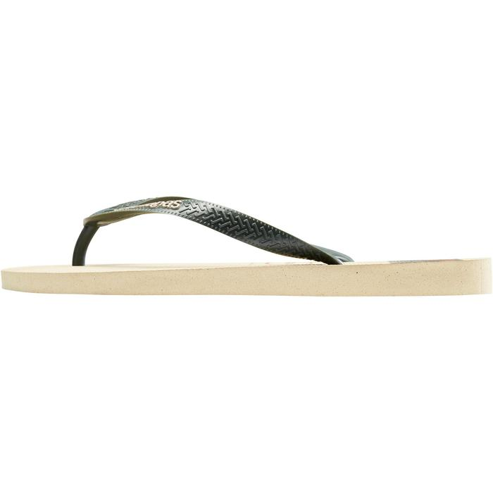 Tongs TOP M STRIPE beige