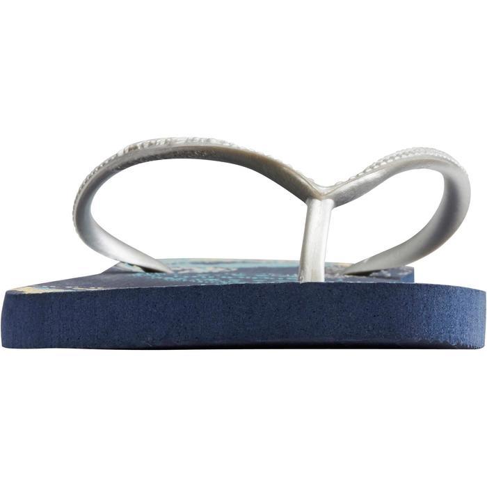 Tongs SLIM W ORGANIC bleu - 1288935