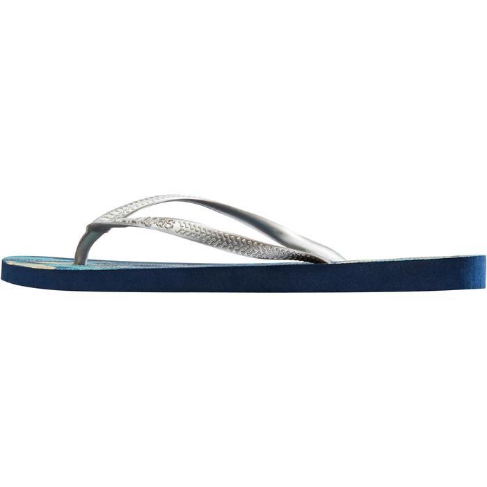 Tongs SLIM W ORGANIC bleu - 1288937