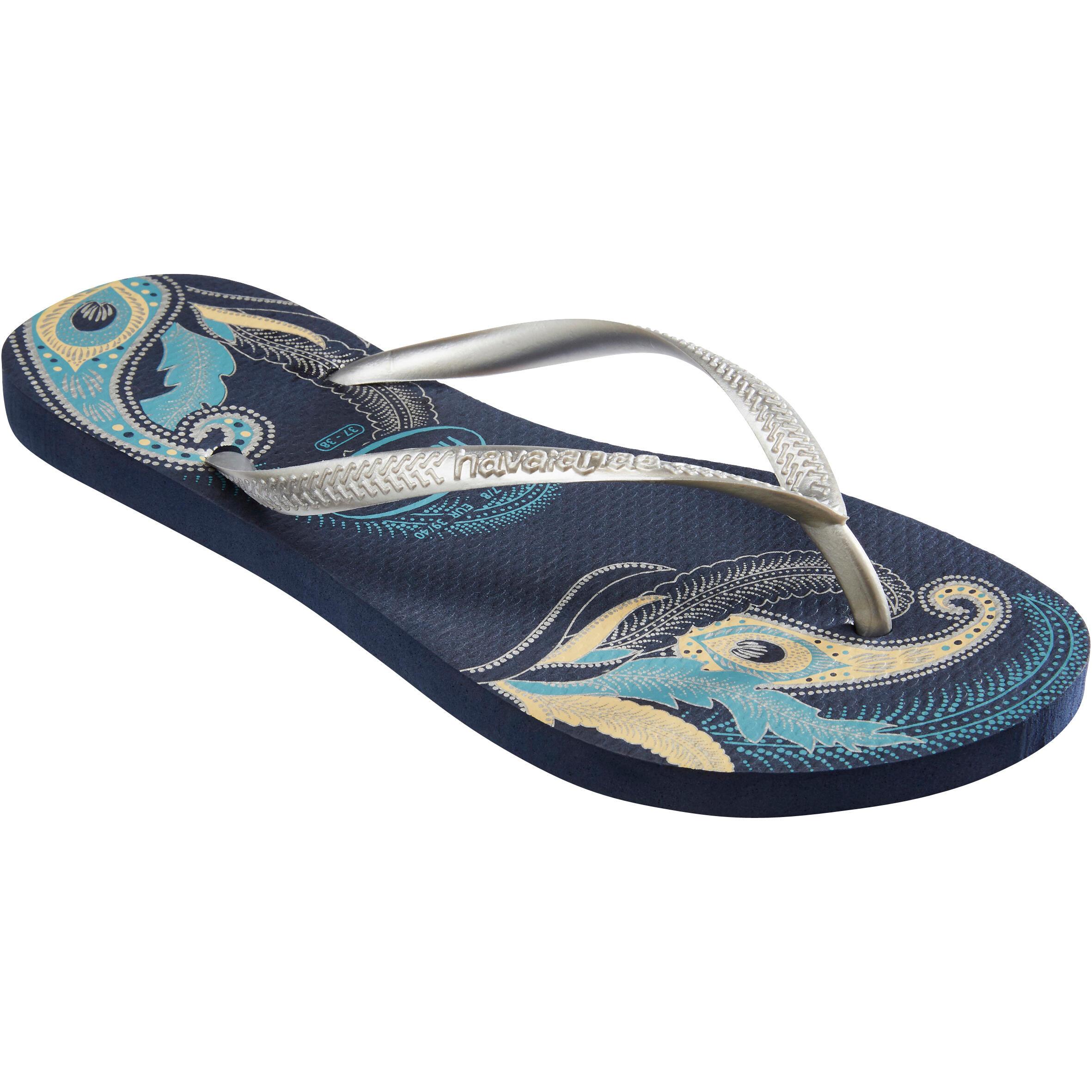 Havaianas Slippers Slim D Organic blauw