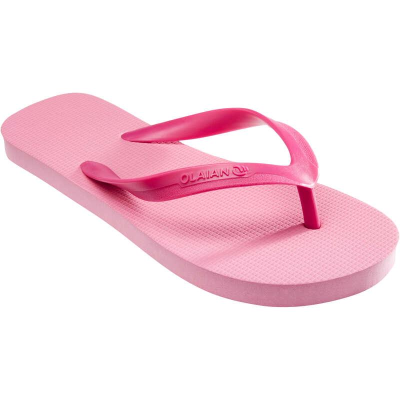 JUNIOR'S SURF FOOTWEAR Surf - TO 100S Jr Flip-Flops - Pink OLAIAN - Surf Clothing
