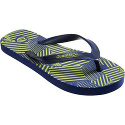 Boy's Flip-Flops TO 120 Patch Green