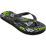 Chanclas junior TO 100S PRINT B Words Negro