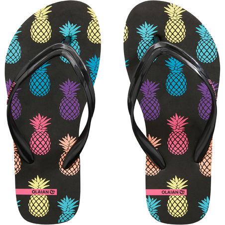 Girls' FLIP-FLOPS 120 - Pineapple