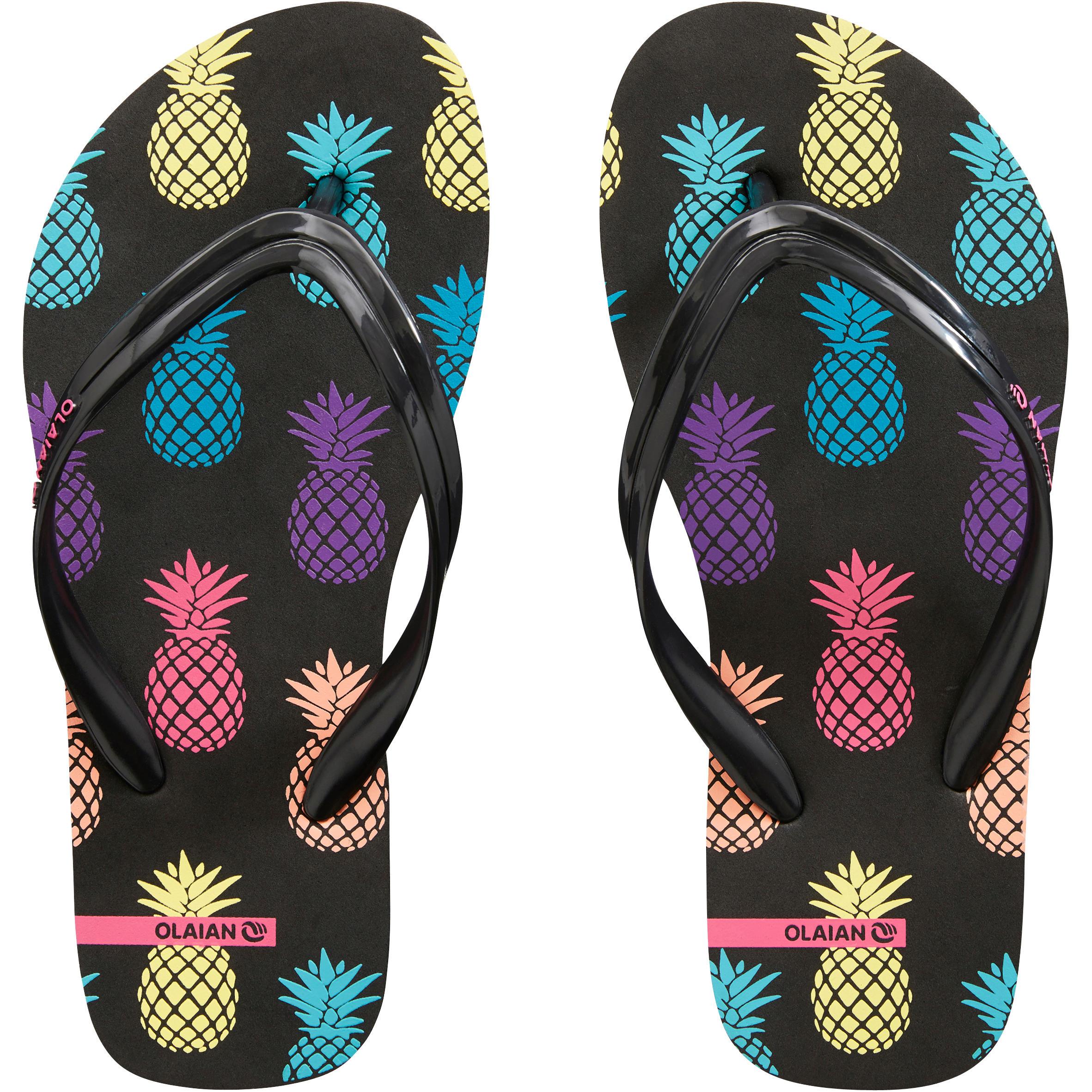 TO 150 G Pineapple Girls' Flip-Flops