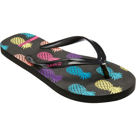 Girls' FLIP-FLOPS 120 - Pineapple