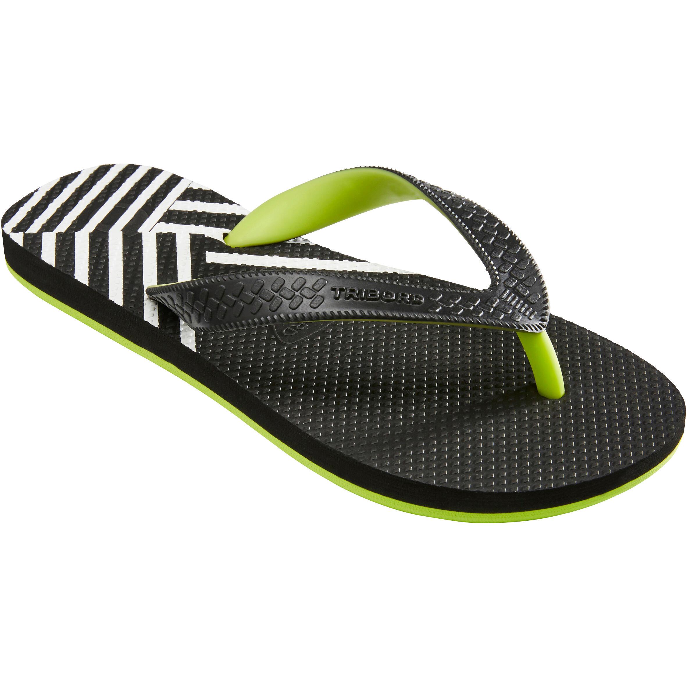 Sandales de plage pour garçon TO 500 B Diago Noir