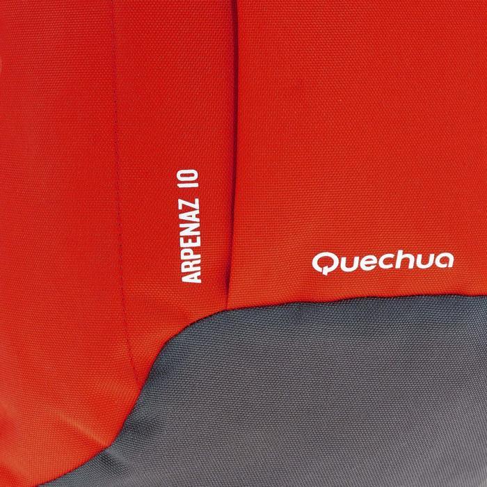 Mochila de Montaña y Senderismo Quechua NH100 10 Litros Gris