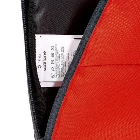 NH100 10-L HIKING BACKPACK – RED/GREY