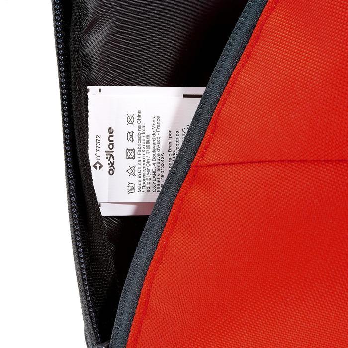 Wandelrugzak NH100 10 liter rood grijs