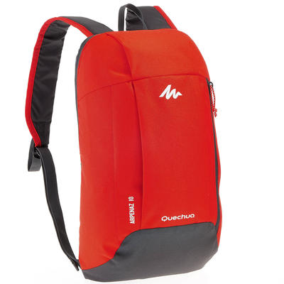 NH100 10-L HIKING BACKPACK – RED/GREY