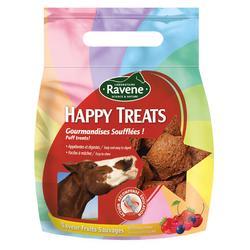 Friandises équitation cheval et poney HAPPY TREATS fruits rouges - 200 gr