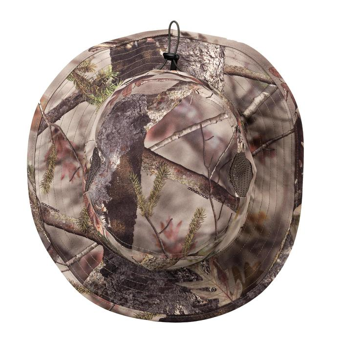 Chapeau chasse Respirant BGS500D Camouflage Actikam Brown - 1289045