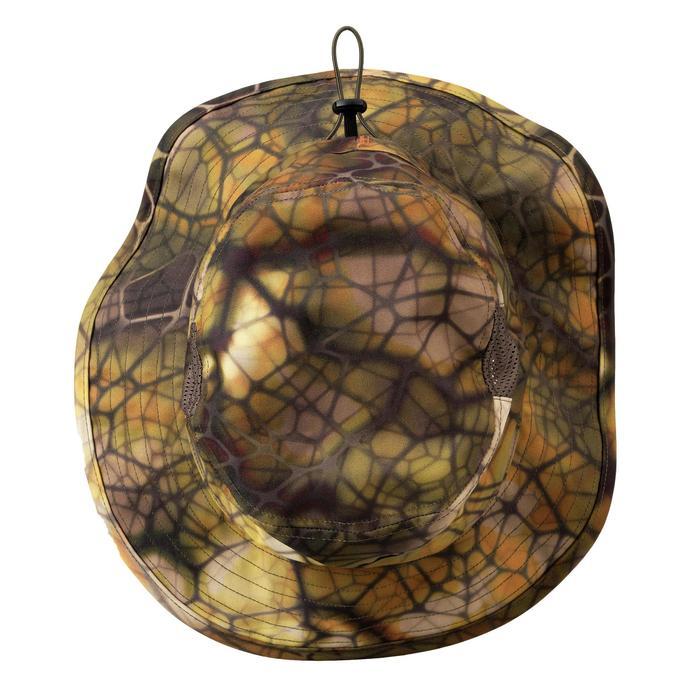 Sombrero Caza Solognac 500 D Silencioso Ajustable Transpirable Camuflaje Sigilo