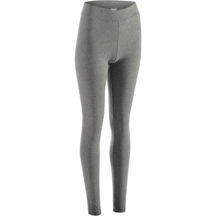 Legging FIT+ 500 slim Gym Stretching femme AOP - 1289083
