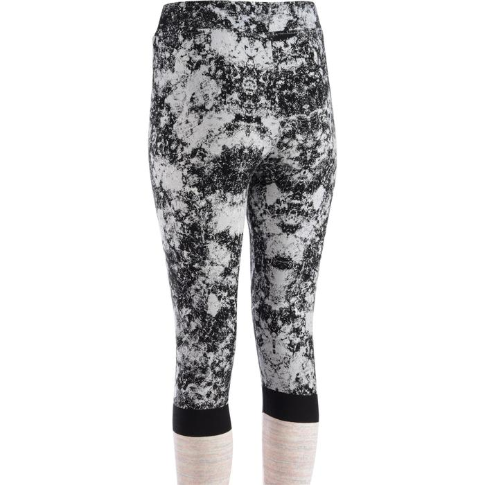 Leggings FIT+ 500 slim gimnasia y pilates mujer estampado rosa