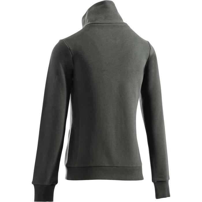 Veste sans capuche zippée Gym & Pilates femme - 1289094