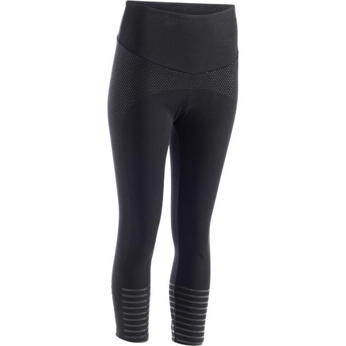 Legging 7/8 900 Slim Gym & Pilates Femme noir - 1289097