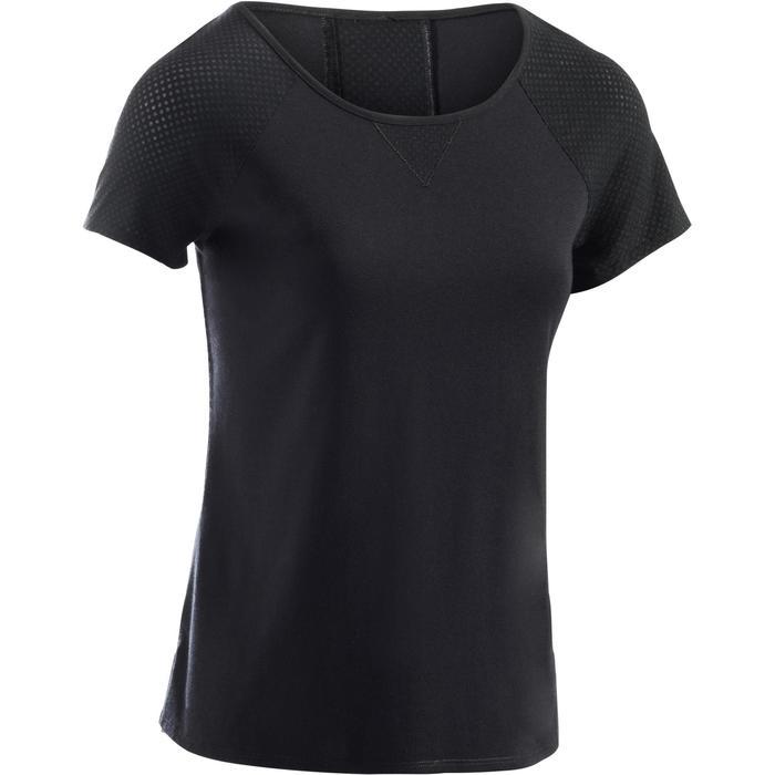 T-Shirt 900 manches courtes Gym & Pilates femme - 1289107