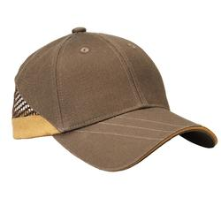 Gorra Ball Trap Solognac Clay 100 Marrron Beige
