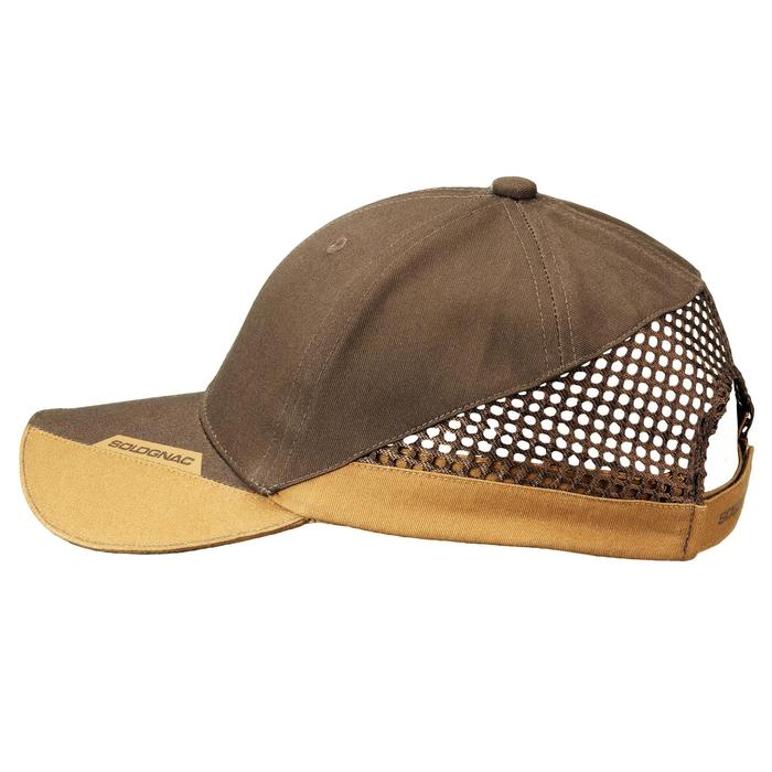 GORRA BALL TRAP MARRÓN