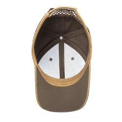 CASQUETTE BALL TRAP MARRON