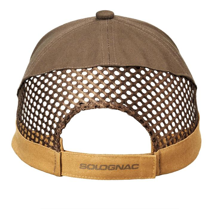 Gorra Ball Trap Solognac Clay 100 Marrron Beige