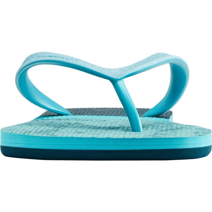 Slippers heren 500 marineblauw