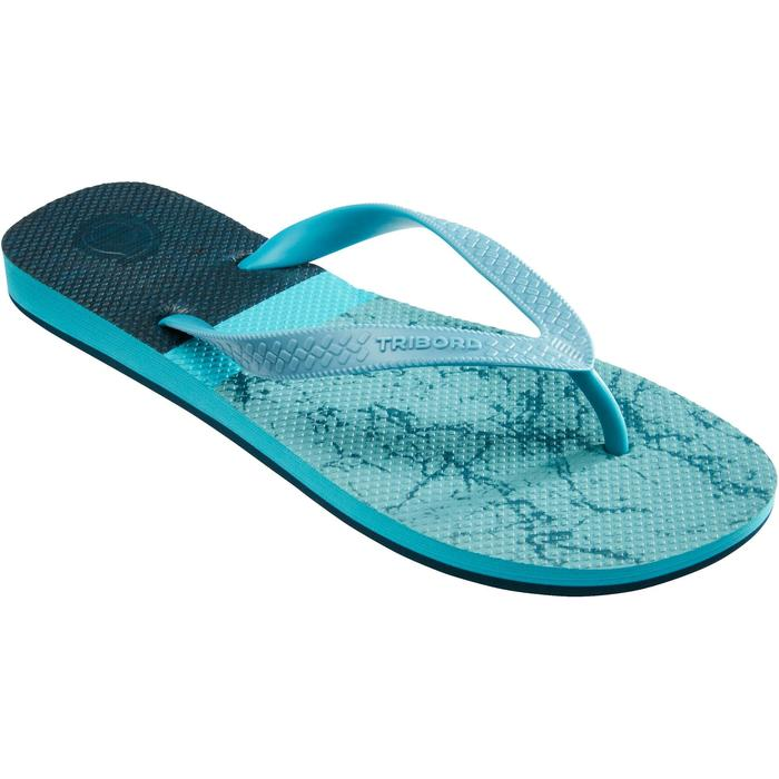 Slippers heren 500 marineblauw
