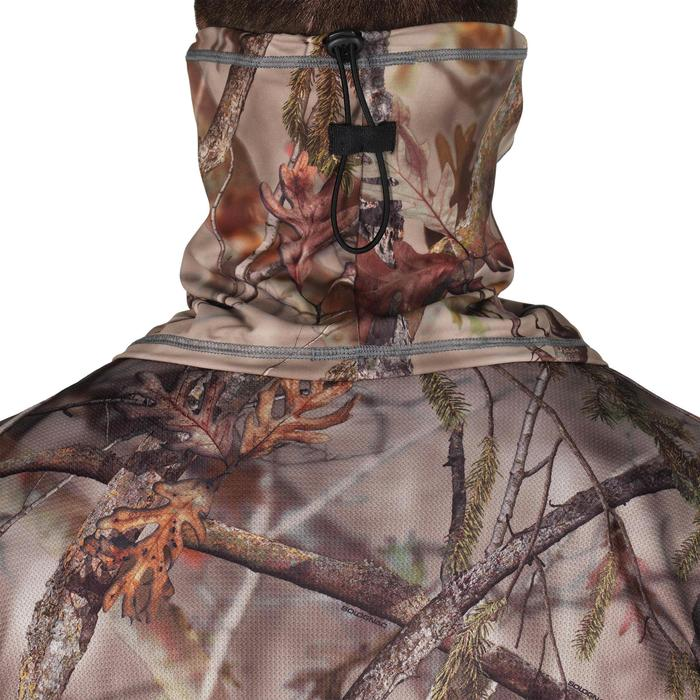 Tour de Cou chasse Respirant BGS500D camouflage BROWN