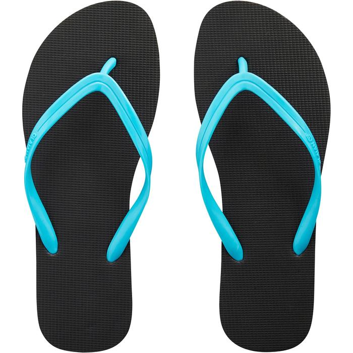 Tongs Femme TO 50 W Noir Turquoise