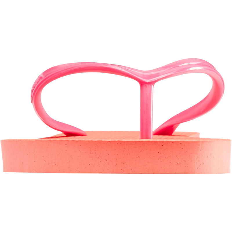 TONGS Femme TO 100 Corail Rose