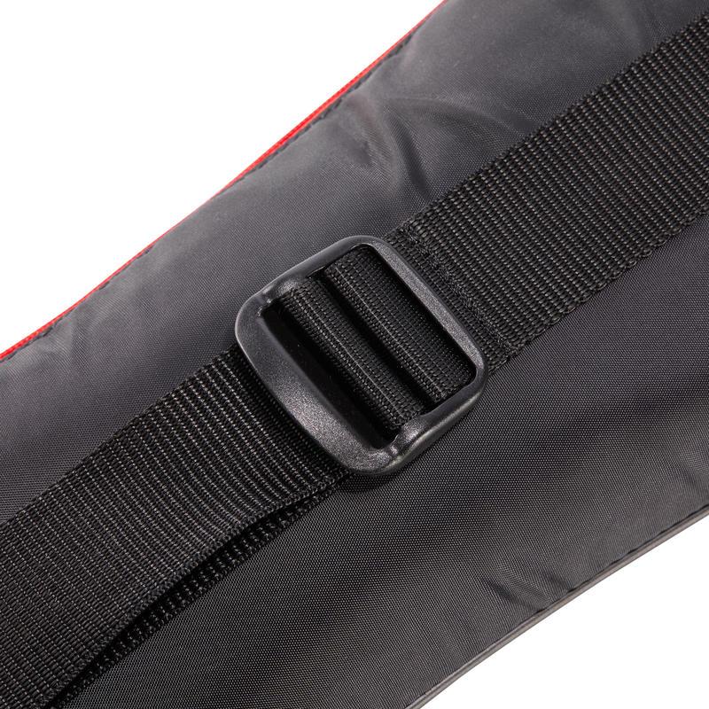 Túi đựng vợt tennis TL 700 cho người lớn - đen/ trắng/ đỏ